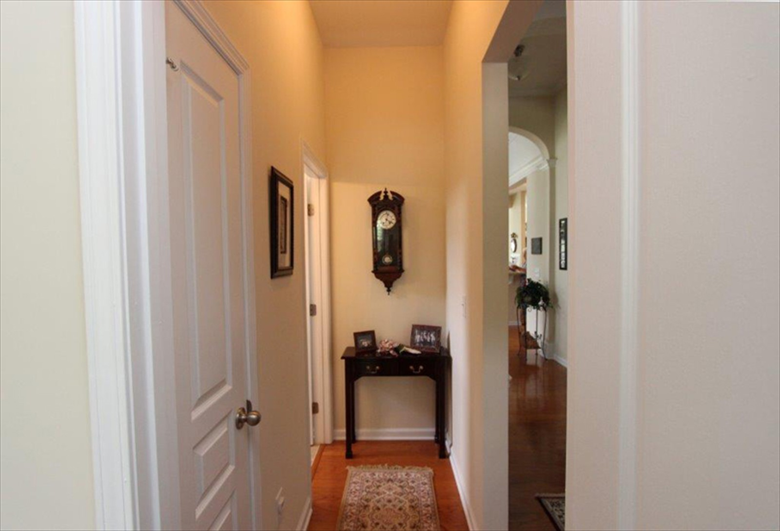Hallway to second Bedroom and Bath